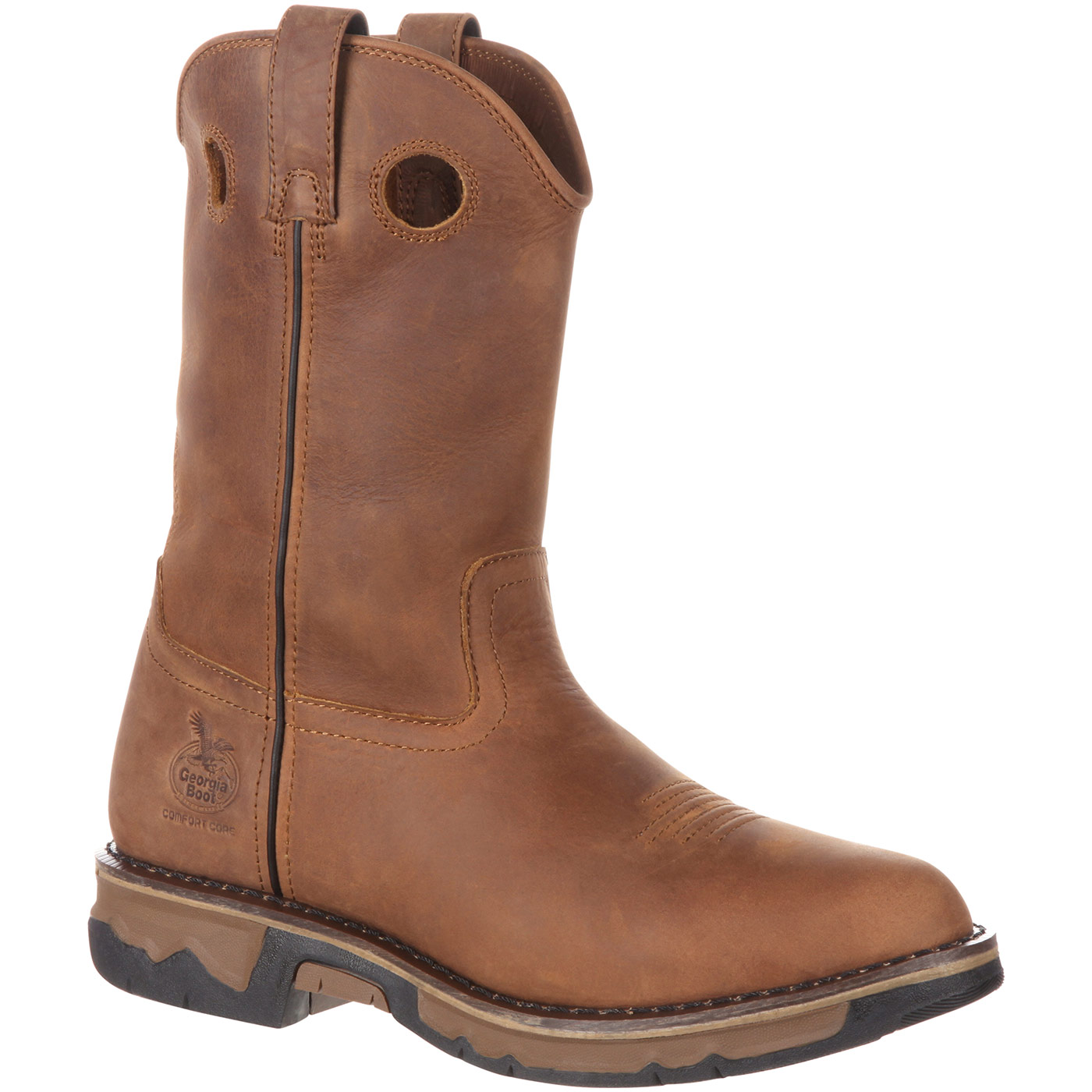Georgia Boot Men S Carbo Tec Pull On Boot Long Wearing