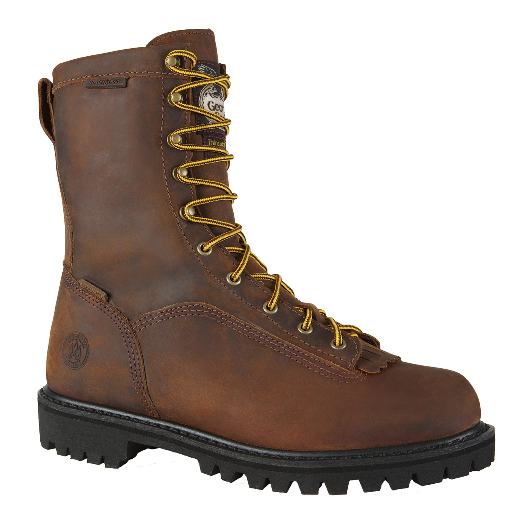 Georgia Boot Men S 8 Quot Insulated Waterproof Low Heel