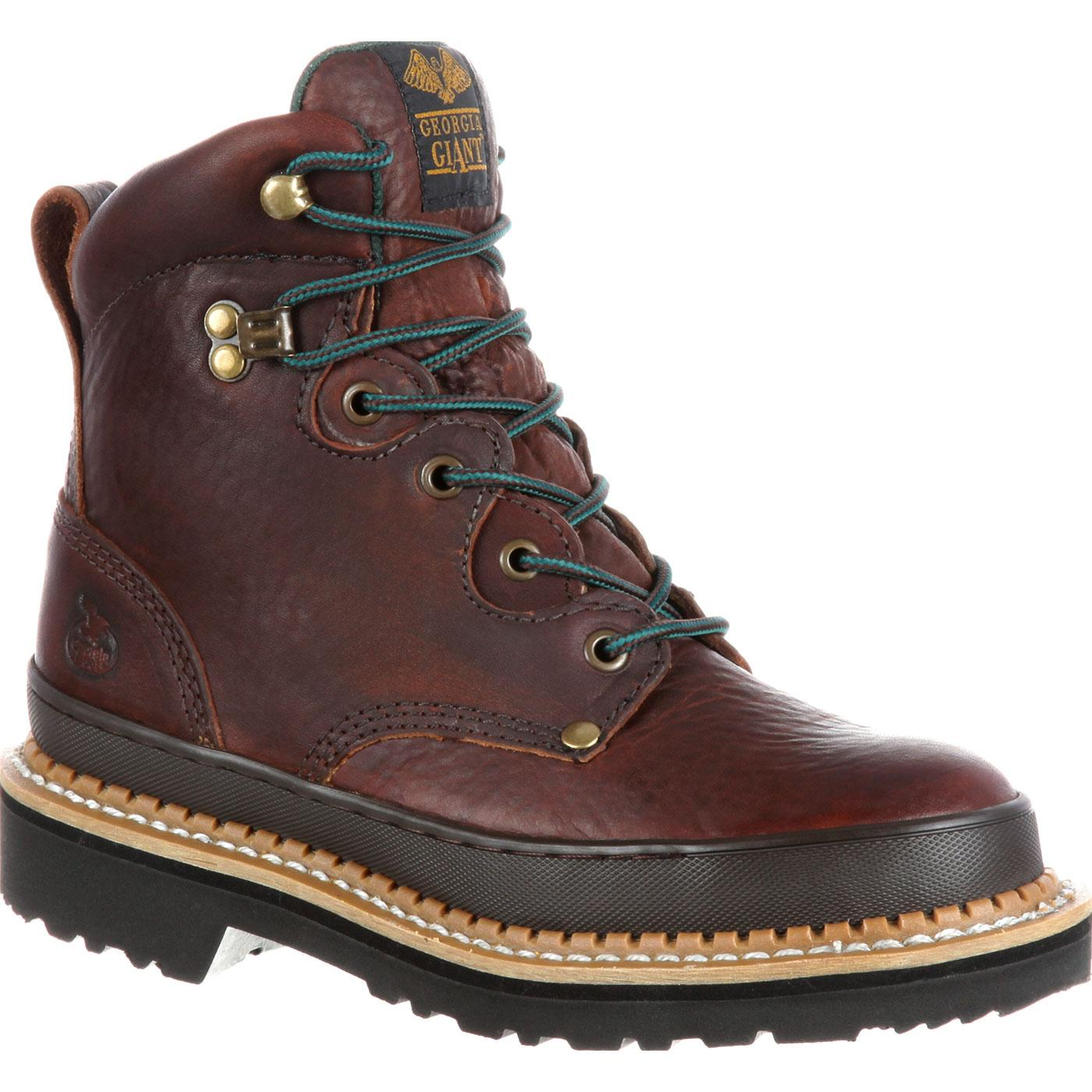 Georgia Giant Women S Steel Toe Work Boots Style G3374