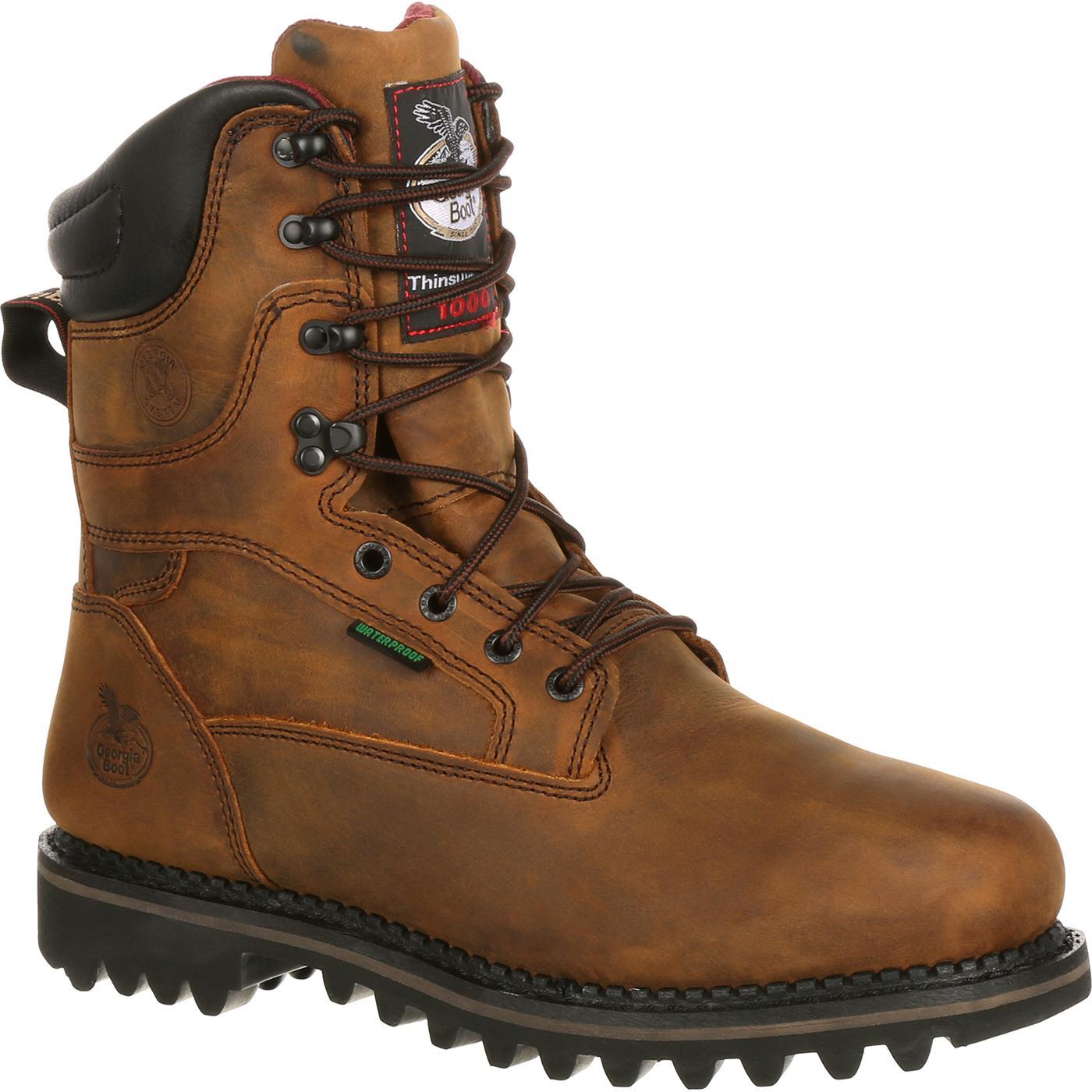 Men's Georgia Insulated Steel Toe Work Boots, #G8362