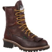 Georgia Boot Steel Toe Waterproof Logger Boot, , medium