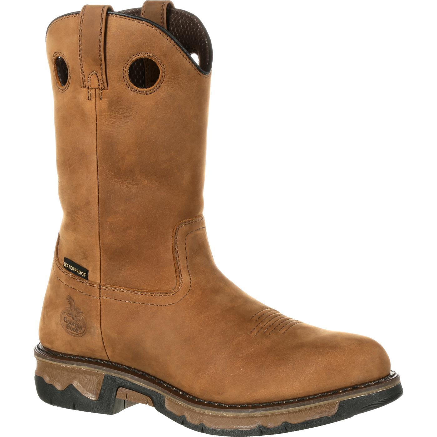 Georgia Boot Carbo Tec Men S Waterproof Work Wellington