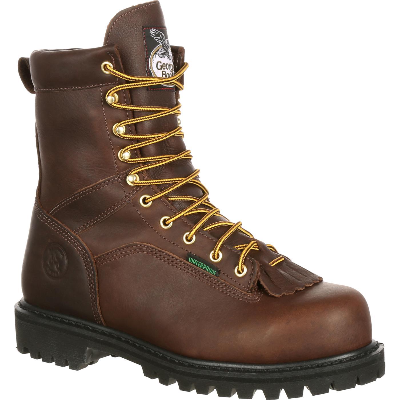 Georgia Boot Steel Toe Waterproof Work Boot, style G8341
