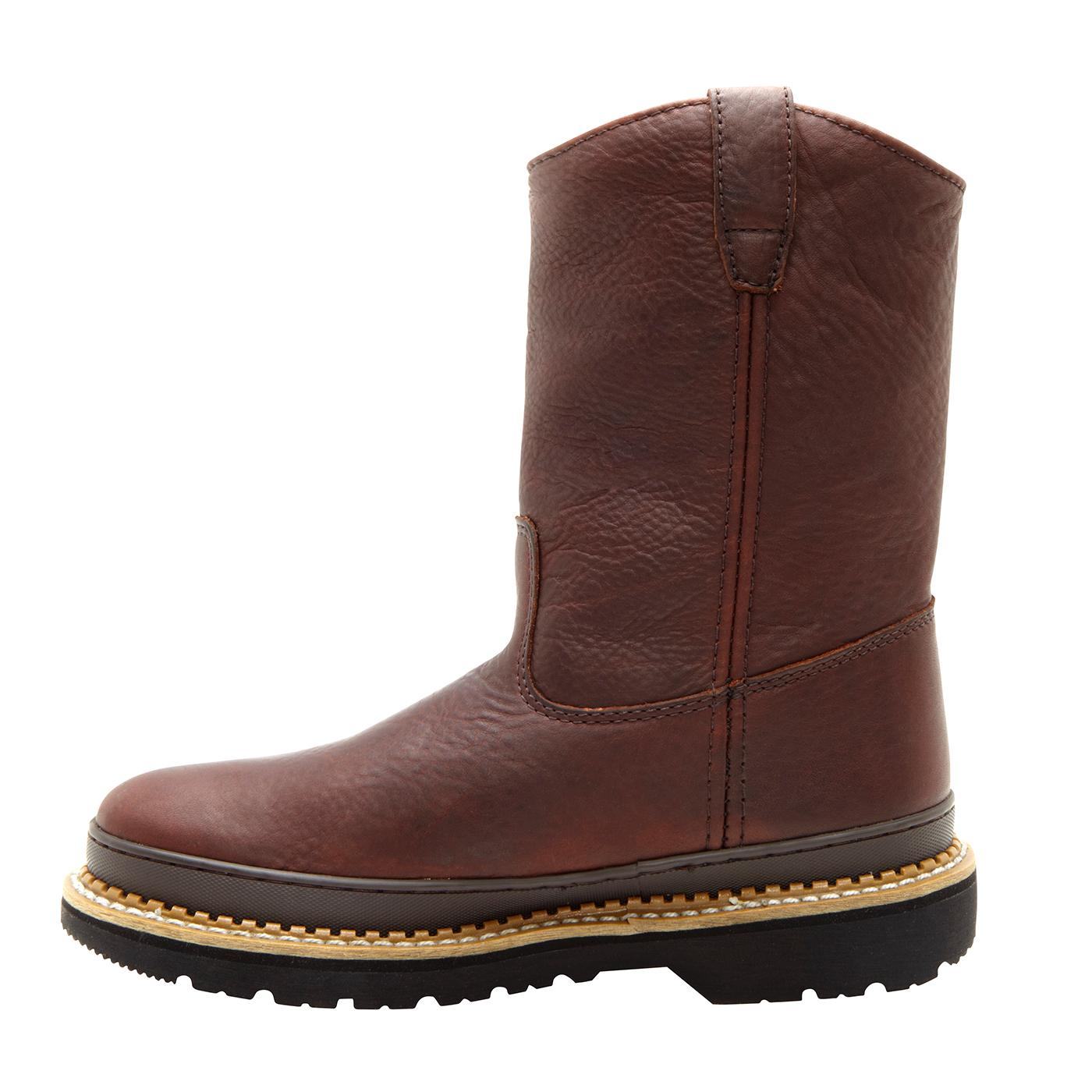9 quot s wellington pull on work boot boot g3402