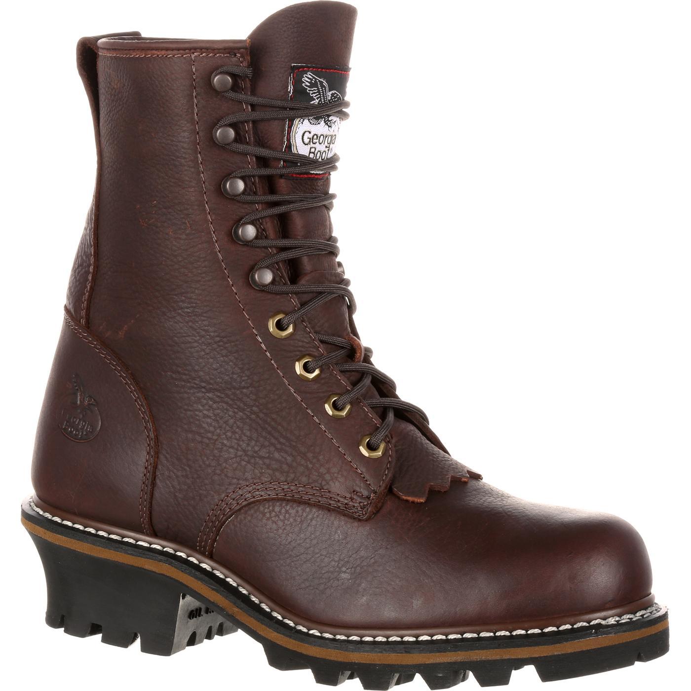 Georgia Boot Men S Logger Work Boots Style Gb0105ia