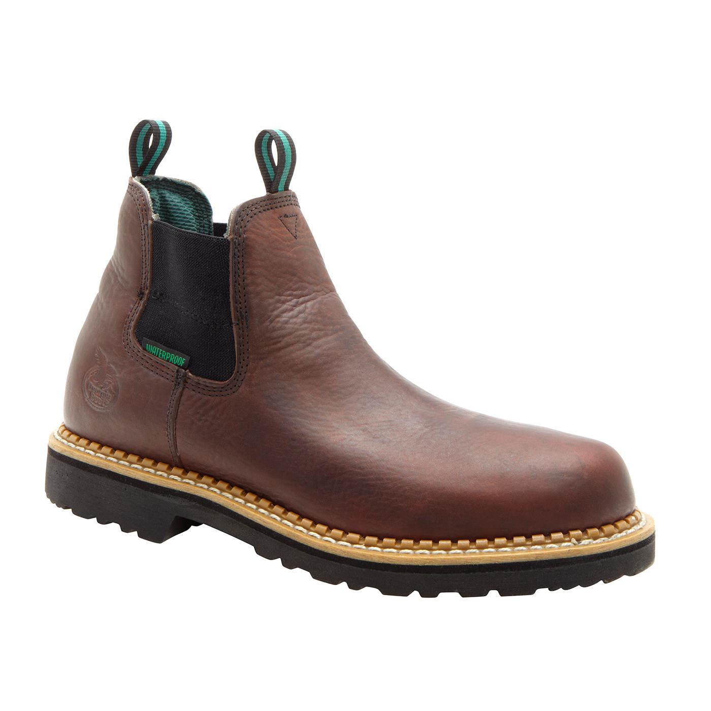 Georgia Boot Waterproof Romeo Slip On Shoes Style Gr500