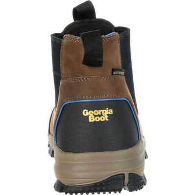 Georgia Boot Blue Collar Chelsea Waterproof Work Romeo Boot, , large