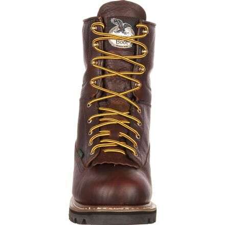Waterproof Lace-To-Toe Work Boot by