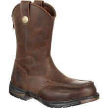 Georgia Boot Athens Pull-On Steel Toe Work Boot