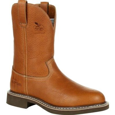 Georgia Boot Farm & Ranch Pull-On Work Boot, , large
