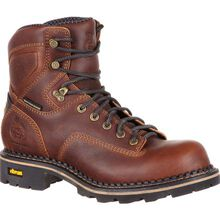 Georgia Boot Comfort Core Low Heel Logger Waterproof Work Boot