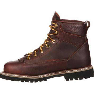 Georgia Boot Lace-To-Toe Steel Toe Waterproof Work Boot, , large