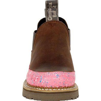 Georgia Boot Georgia Giant Women's Brown and Pink Romeo Shoe, , large
