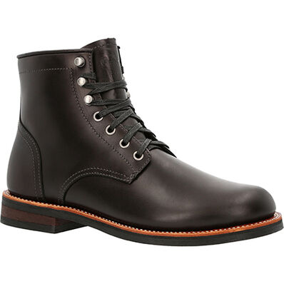"""Georgia Boot Small Batch 6"""" Stacked Leather Boots, , large"""