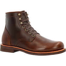 "Small Batch 6"" Stacked Leather Boots"