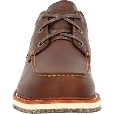Georgia Boot Small Batch Oxford Eco Wedge Shoe, , large