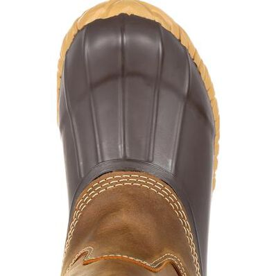 Georgia Boot Marshland Unisex Alloy Toe Pull-On Duck Boot, , large