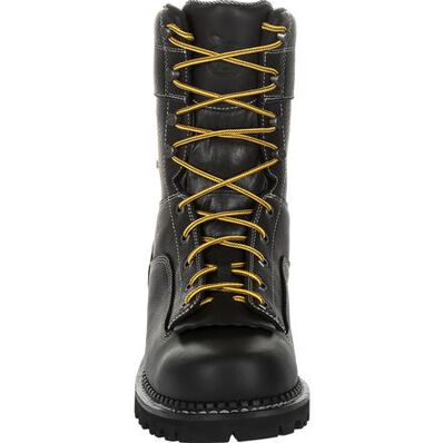 Georgia Boot AMP LT Logger Composite Toe Waterproof Work Boot, , large