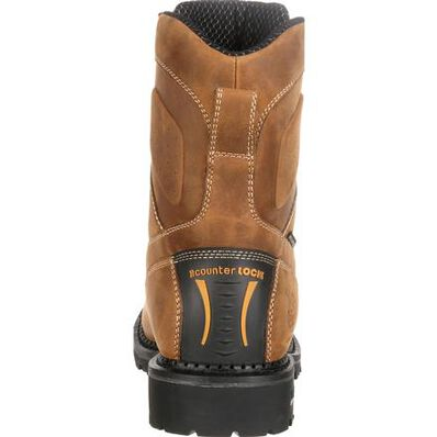 Georgia Boot Comfort Core Waterproof Low Heel Logger Work Boot, , large