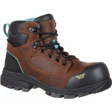 Georgia Boot Blue Collar Women's Composite Toe Waterproof Work Boot