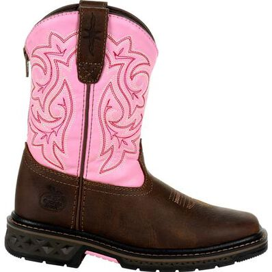 Georgia Boot Carbo-Tec LT Little Kids Pull On Boot, , large