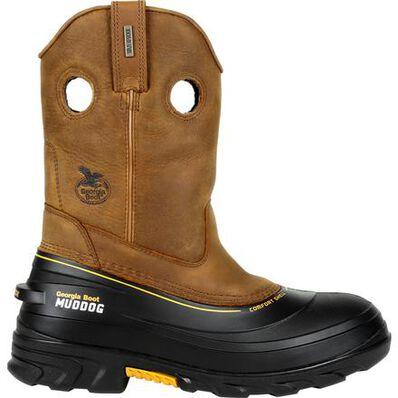 Georgia Boot Muddog Waterproof Work Wellington, , large