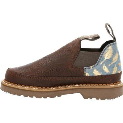 Georgia Boot Women's Feather & Floral Romeo Shoe, , large