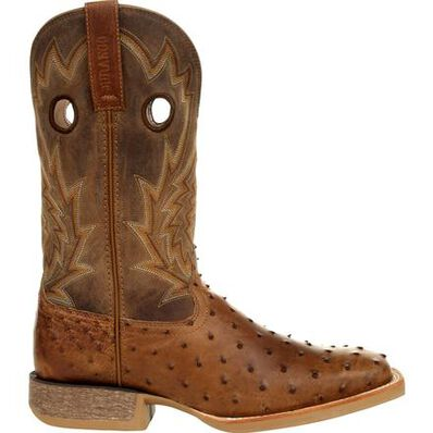 Durango® Rebel Pro™ Tobacco Full-Quill Ostrich Western Boot, , large