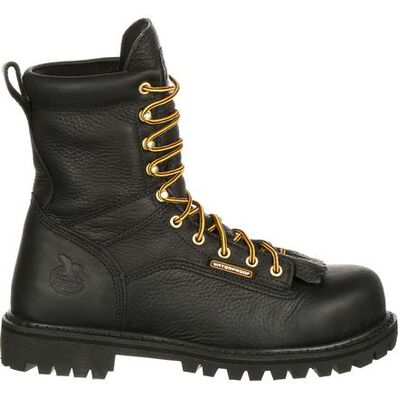 Georgia Boot Waterproof Lace-to-Toe Work Boot, , large