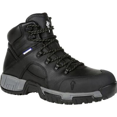Michelin® HydroEdge Steel Toe Puncture-Resistant Waterproof Work Boot, , large