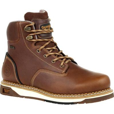 Georgia Boot AMP LT Wedge Waterproof Work Boot, , large