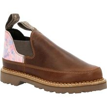 Georgia Boot Women's Brown and Cotton Candy Romeo Shoe