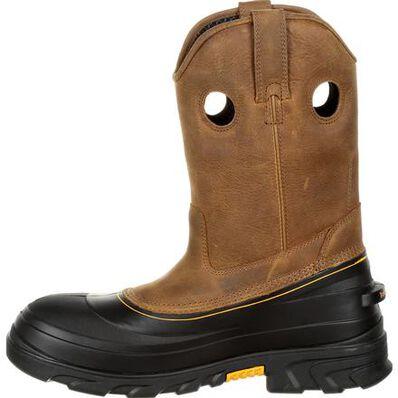 Georgia Boot Muddog Composite Toe Waterproof Work Wellington, , large