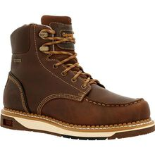 Georgia Boot AMP LT Wedge Waterproof Moc-Toe Work Boot