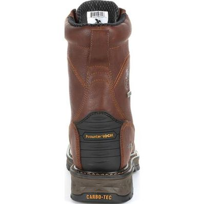 Georgia Boot Carbo-Tec LT Waterproof Lacer Work Boot, , large