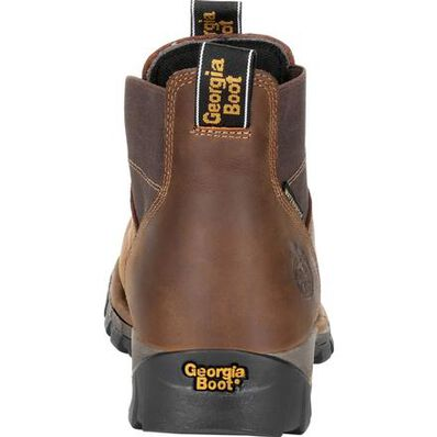 Georgia Boot Eagle One Steel Toe Waterproof Chelsea Work Boot, , large
