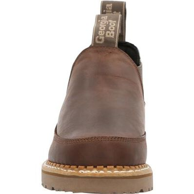 Georgia Boot Women's Brown and Feather Romeo Shoe, , large