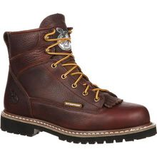 Georgia Boot Lace-To-Toe Steel Toe Waterproof Work Boot