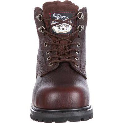 Georgia Boot Mens Oiler-M Georgia Steel Toe Work Boot