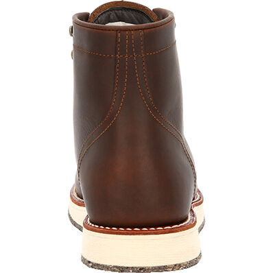 "Georgia Boot Small Batch 6"" Moc-toe Eco Wedge Boots, , large"