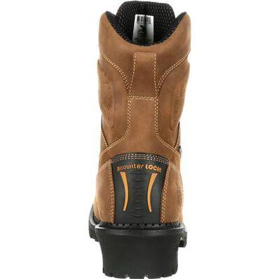 Georgia Boot Comfort Core Logger Waterproof Work Boot, , large