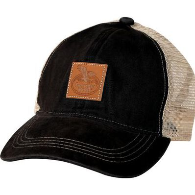 Georgia Boot Logo Patch Hat, BLACK, large