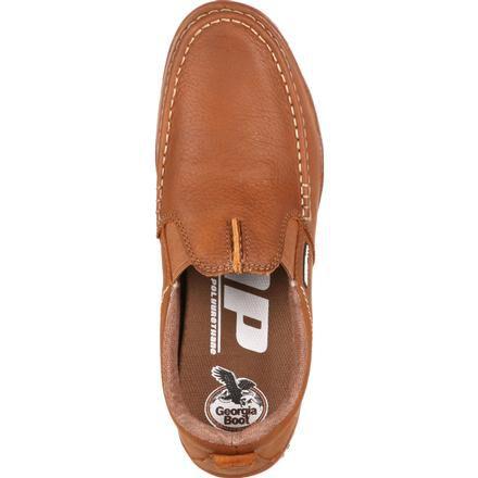 Men's Moc-Toe Slip-On Shoes, the