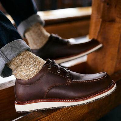 Georgia Boot Small Batch Wedge Oxford Shoe, , large