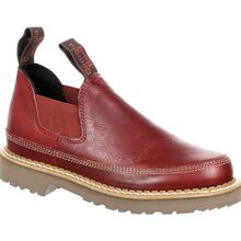 Georgia Giant Women's Red Leather Romeo Shoe
