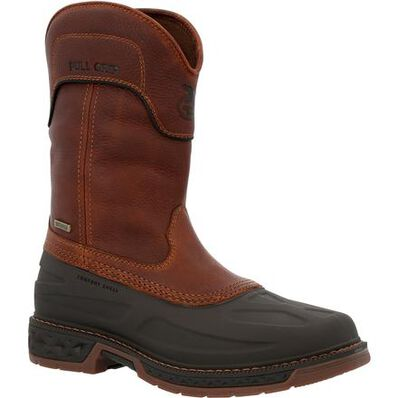 Georgia Boot Carbo-Tec LTR Waterproof Pull On Boot, , large