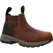 Georgia Boot Eagle Trail Waterproof Alloy Toe Chelsea Work Boot