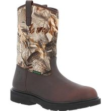 Georgia Boot Farm and Ranch Waterproof Camo Pull-On Boot