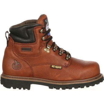 Internal Met Guard Steel Toe Work Boots