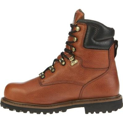 Georgia Boot Hammer GB00055 Brown Leather Steel Toe Waterproof Work Boot